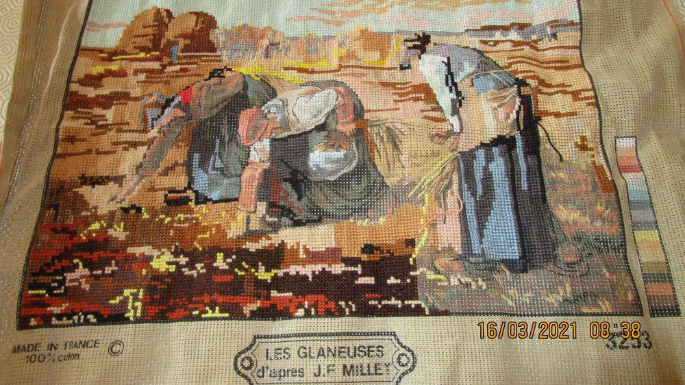 CANEVAS  les glaneuses de millet  20 Entraigues-sur-la-Sorgue (84)