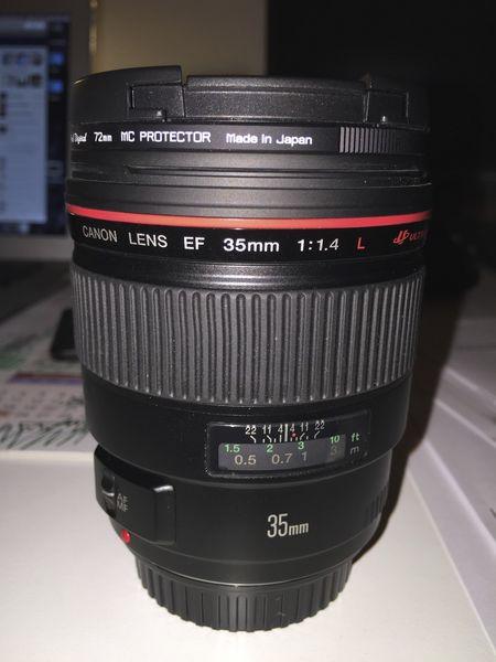 Canon 35mm f/1.4 L Photos/Video/TV