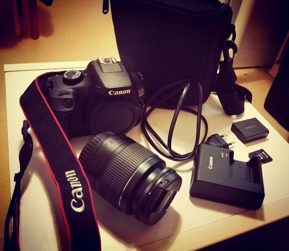 Canon EOS 4000D Appareil Photo avec Objet EF-S 18-55mm III,  0 Lille (59)