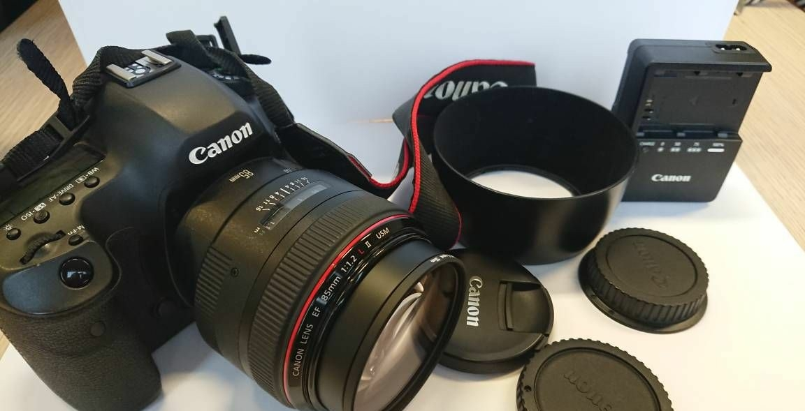 Canon 5dsr neuf+ 85mm 1.2 L II + accessoires 1450 Fossoy (02)