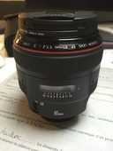Canon 85mm f/1.2 série L 1400 Montigny-lès-Metz (57)