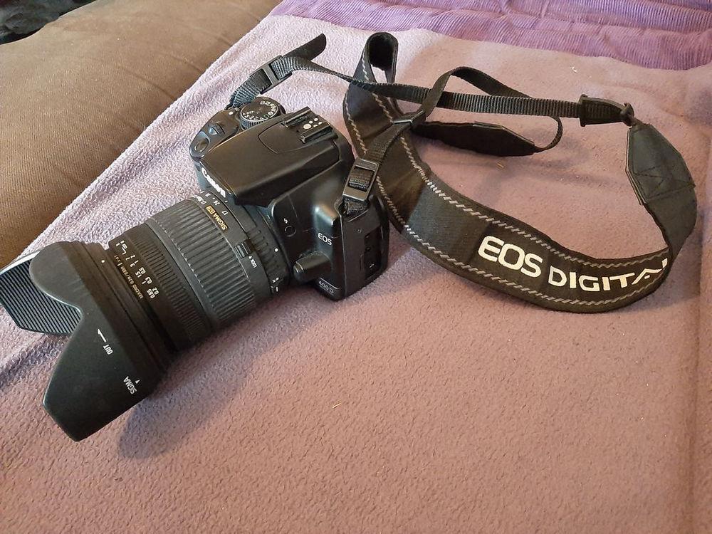 Canon EOS 400 D avec objectif SIGMA 17-70mm 370 Villeneuve-Loubet (06)