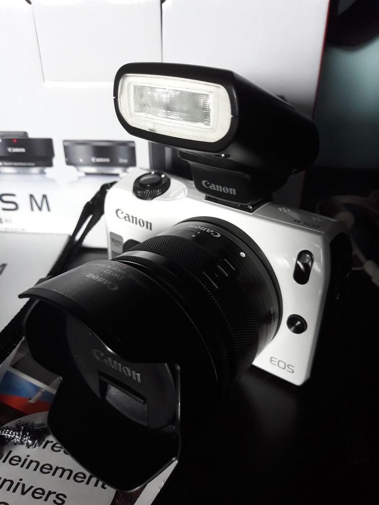Canon Eos m blanc avec accessoires  280 Angres (62)