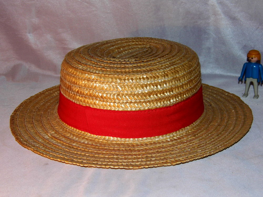 Canotier chapeau paille CAUSSADE vintage made in france 20 Petite Synthe (59)