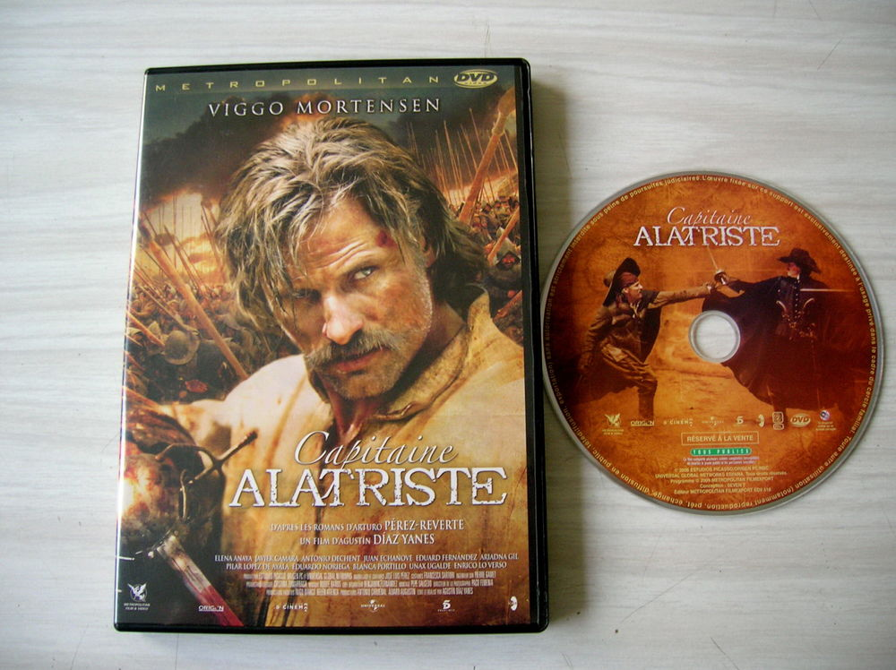 DVD CAPITAINE ALTRISTE 6 Nantes (44)