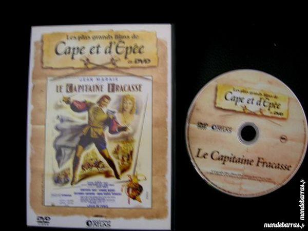 DVD LE CAPITAINE FRACASSE - Jean MARAIS 8 Nantes (44)