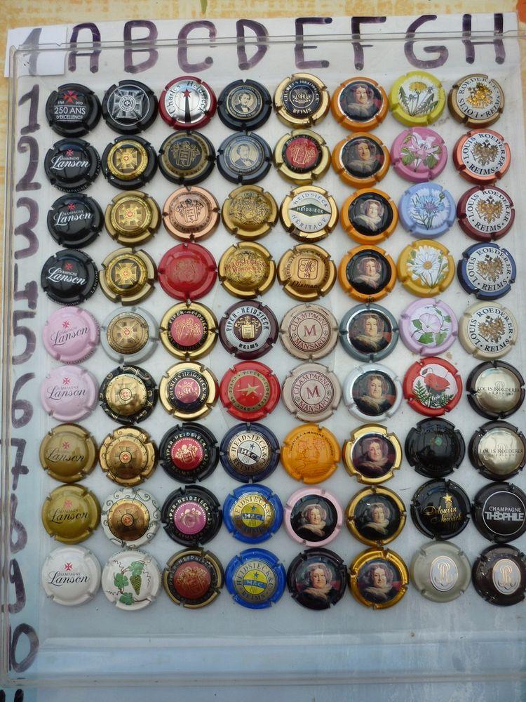 capsules de champagne à 0.50€ N°1 0 Artres (59)