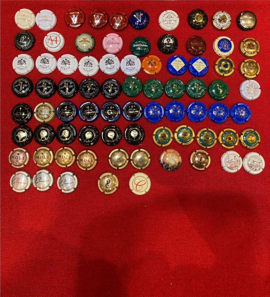 Lot de 78 Capsules de Champagne 15 Renty (62)