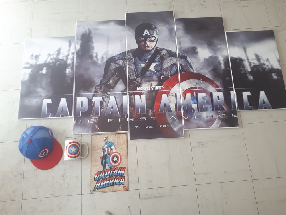 Lot Captain America
