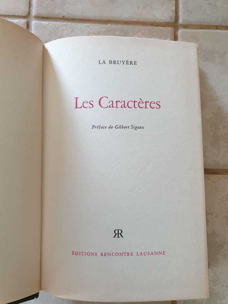 Les Caractères de la Bruyère-1968 éditions rencontre Lausann 3 Marseille 9 (13)