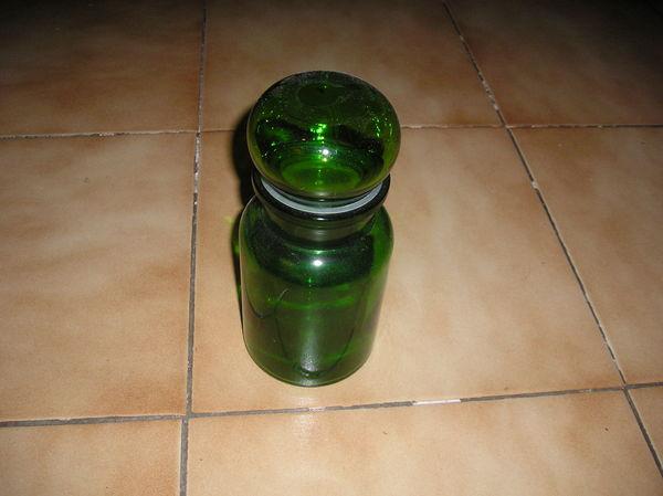 carafe de verre - teintée - 5 Septèmes-les-Vallons (13)