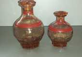 CARAFES en verre Ancienne 11 Viry-Noureuil (02)