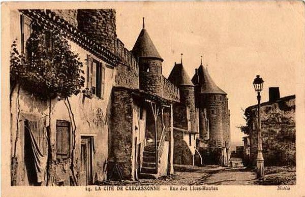 CARCASSONNE - CARTE POSTALE / prixportcompris 3 Lille (59)