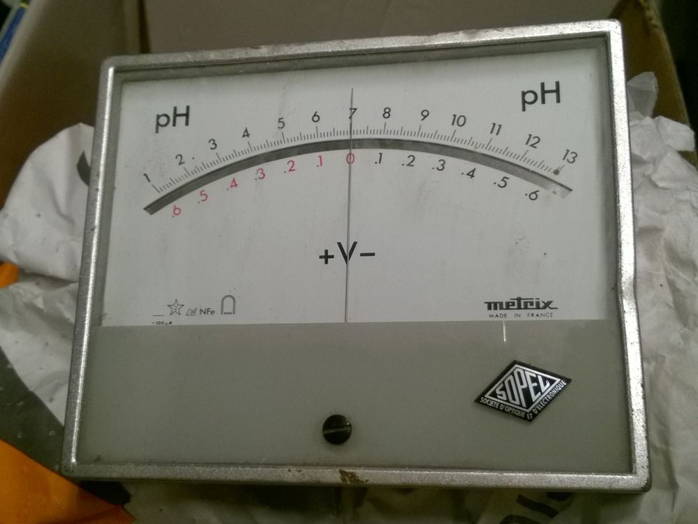 Cardan pH mètre 5 Rouen (76)