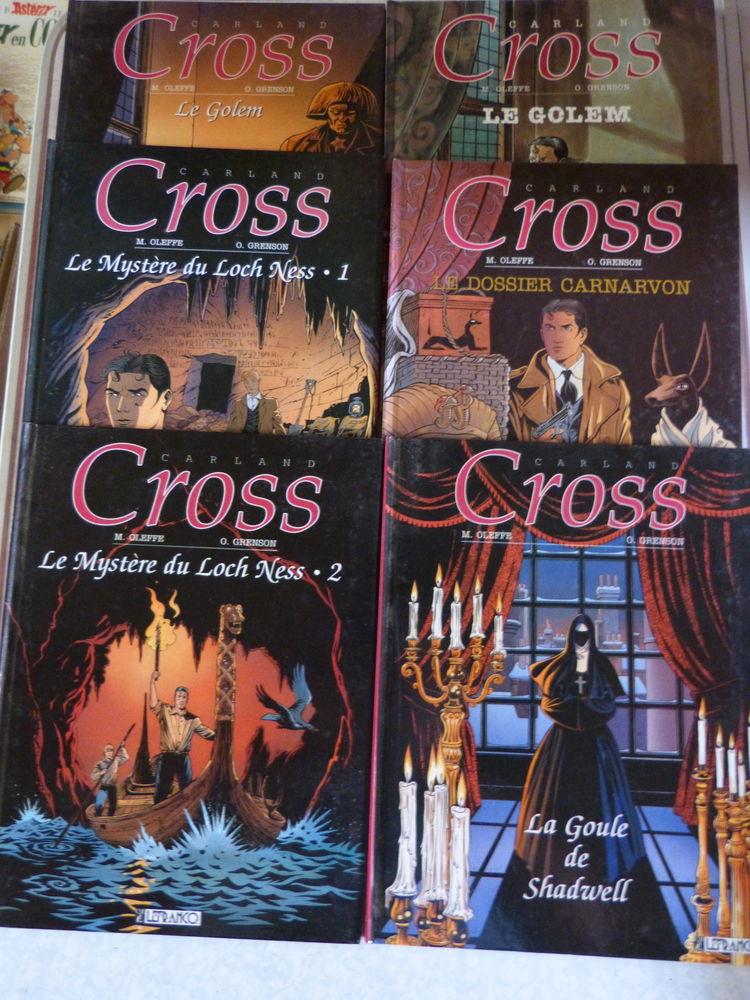 BD - CARLAND CROOS a choisir LISEZ TOUT LE TEXTE Livres et BD