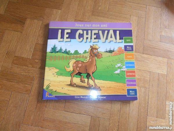 Carnet d'activités Le cheval (4) 3 Tours (37)