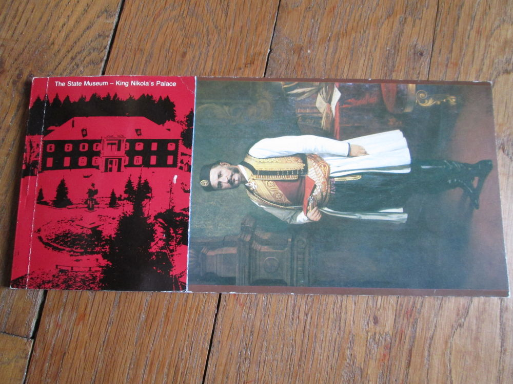 Carnet 12 cartes postales palais du roi Nikola (Montenegro) 5 Herblay (95)