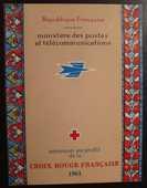 Carnet Croix Rouge 2010 de 1961 EM 5 Joué-lès-Tours (37)
