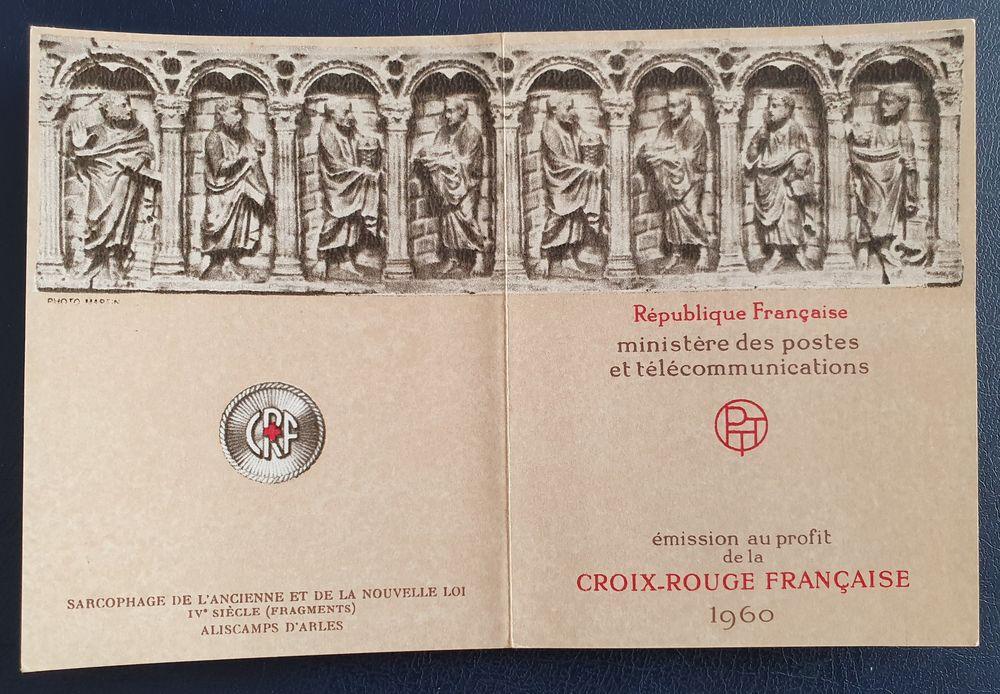 Carnet Croix Rouge N° 2009 de 1960 8 Joué-lès-Tours (37)