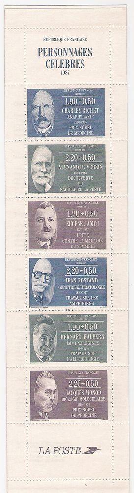 Carnet de timbres 1987