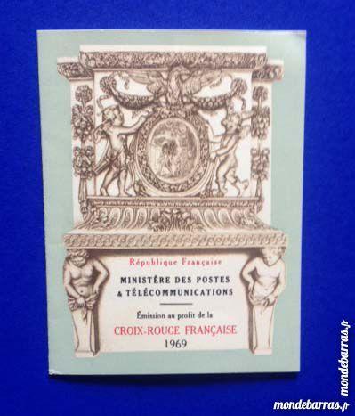 Carnet de timbres Croix Rouge - 1969 5 Nice (06)