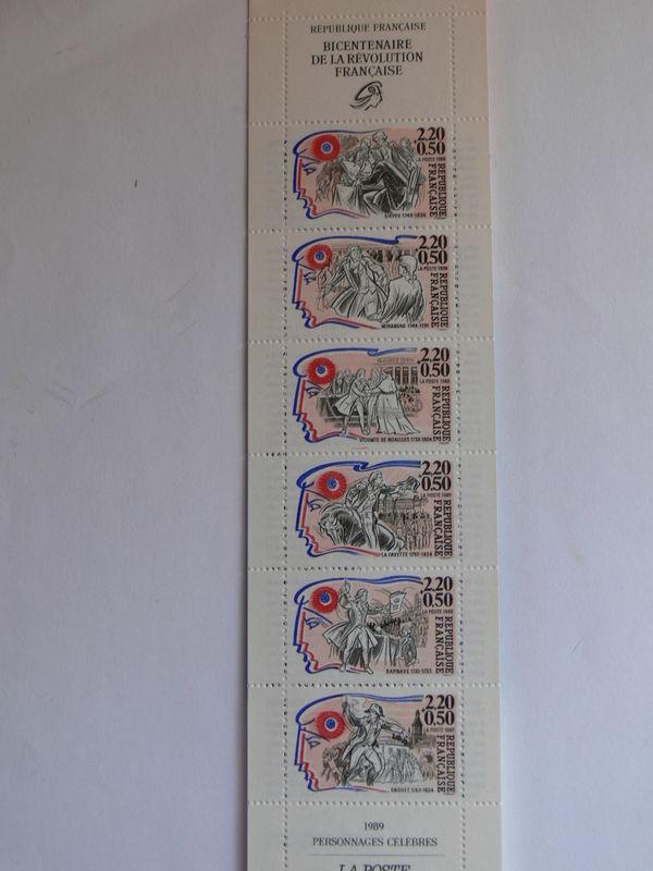 carnet de timbres 5 Plougoumelen (56)