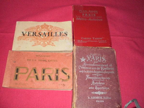 carnets avec ses cartes postales +2 livrets de paris 1 Étaples (62)