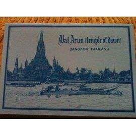 2 carnets dépliants 12 cartes postales Thaïlande 20 Bosc-le-Hard (76)
