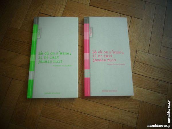 Lot de 2 carnets vert et rose (38) Livres et BD