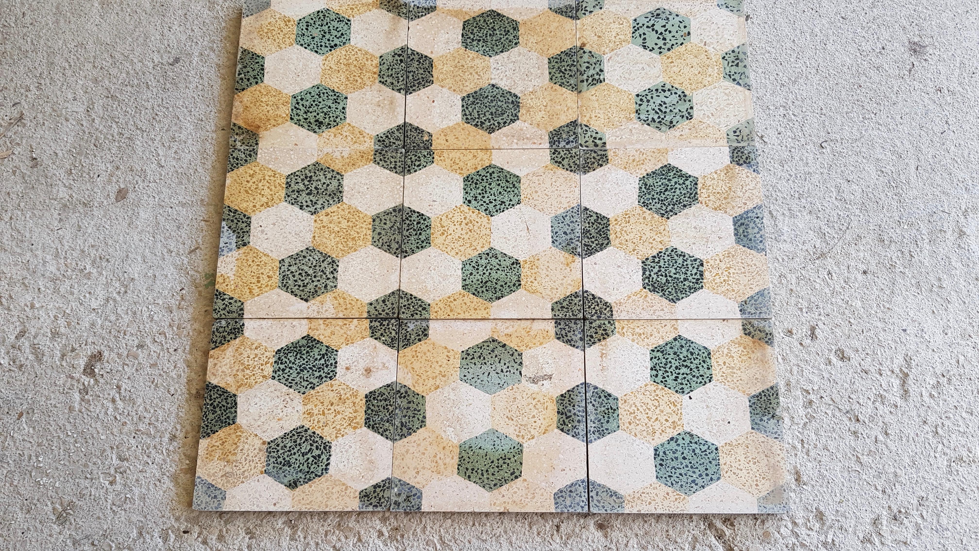 carreaux de ciment granitos 25:25 25 Villeneuve-lès-Avignon (30)