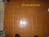 carrelage beige ancien de 19.5 cm sur 9.5 cm 0 Savigny-sur-Orge (91)