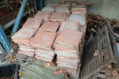 Carrelage terre cuite 100 Assieu (38)