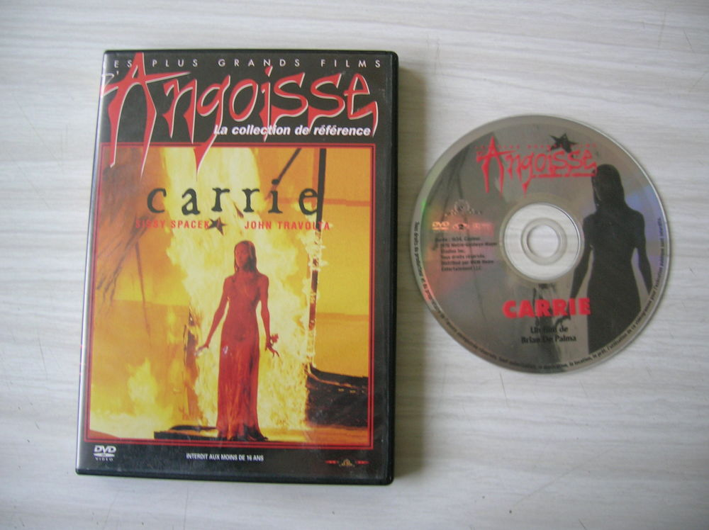 DVD CARRIE DVD et blu-ray