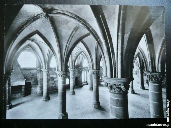 Carte Abbaye Mont St Michel La Merveille (XIIIe) 5 Bordeaux (33)