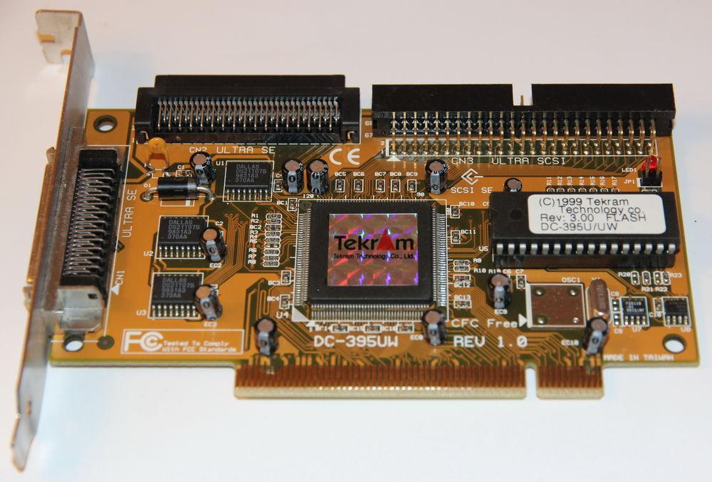 Carte controleur SCSI Tekram DC-395UW - PCI Ultra Wide SCSI 5 Cagnes-sur-Mer (06)