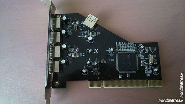 Carte contrôleur USB PCI vers 4 ports USB 2.0 Matériel informatique