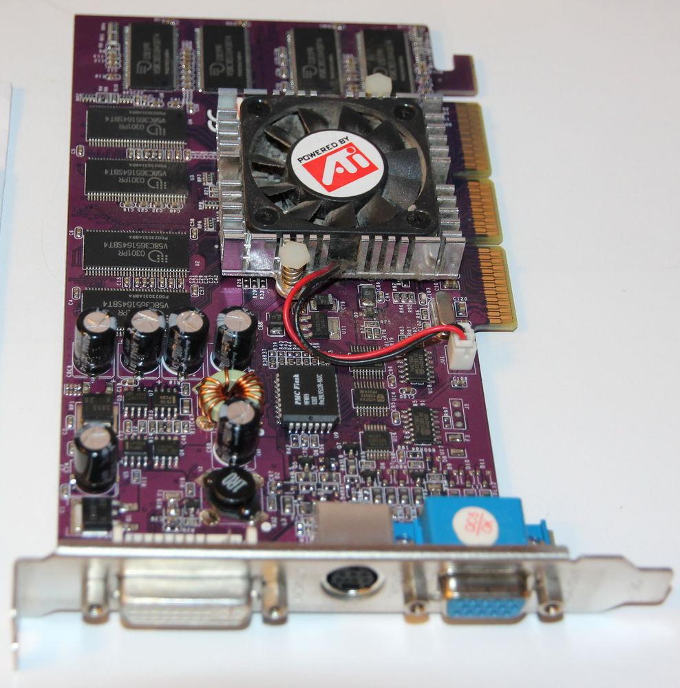 Carte graphique ATI Radeon 7500 DDR 64Mb 8 Cagnes-sur-Mer (06)