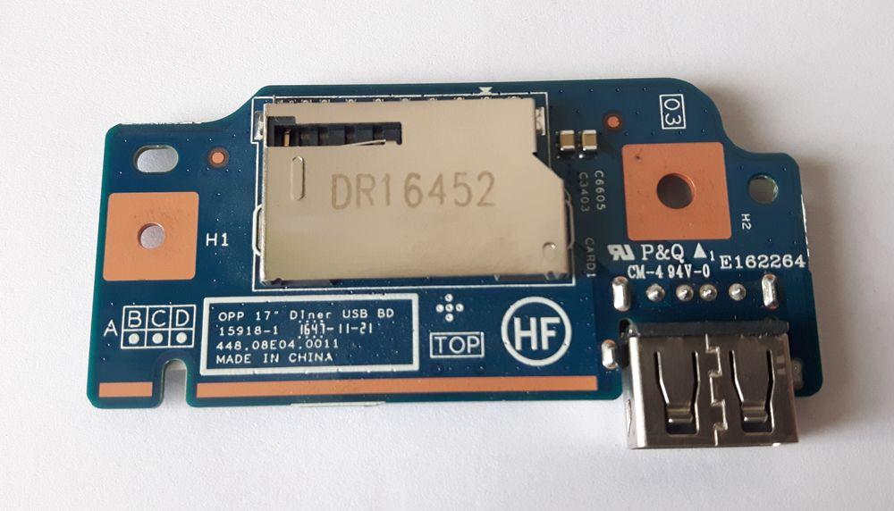 Carte USB - lecteur SD 448.08E04.0011 pour HP 17-Y024NF 15 Saint-Germain-lès-Arpajon (91)