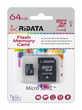 Carte mémoire TF Micro SDXC 64 GB Classe 10 UH1 I + SD a/r Marans (17)