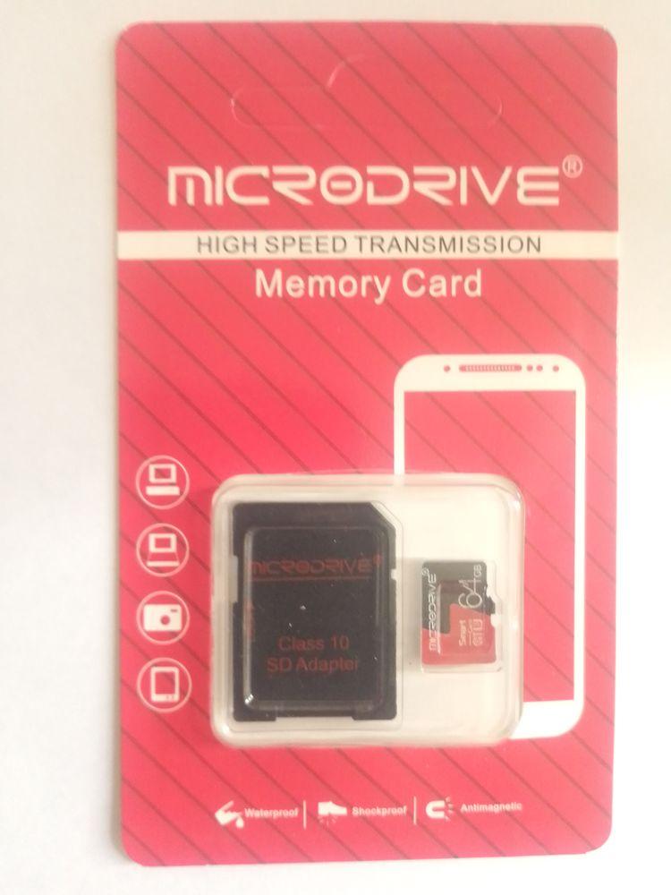 carte mémoire micro sd 64go Microdrive avec adaptateur SD 15 Lyon 8 (69)