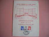 Carte philatélique inauguration 12/11/1978 4 Issou (78)