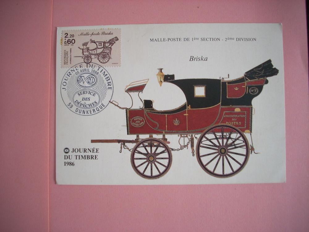 Carte philatélique Malle-poste 5 Issou (78)