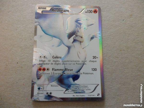 Carte Pokémon Reshiram Full Art  Rarissime Neuve 24 Haubourdin (59)