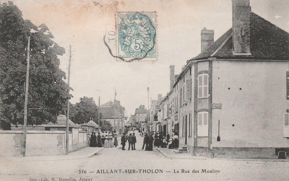 Carte postale Aillant-sur-Tholon 89 4 Serémange-Erzange (57)