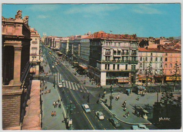 Carte Postale Ancienne Marseille (B.d.R). 3 Mèze (34)