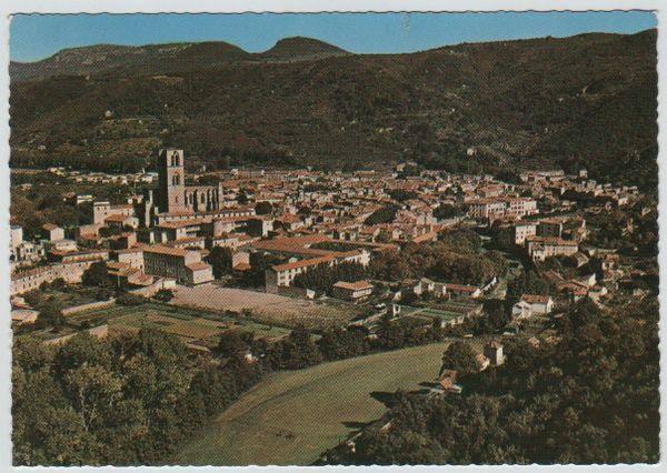 Carte Postale Ancienne Lodève (Hérault) 2 Mèze (34)