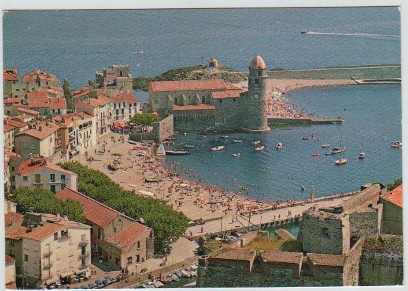 Carte Postale Ancienne Collioure (Pyrénées Orientales) 2 Mèze (34)