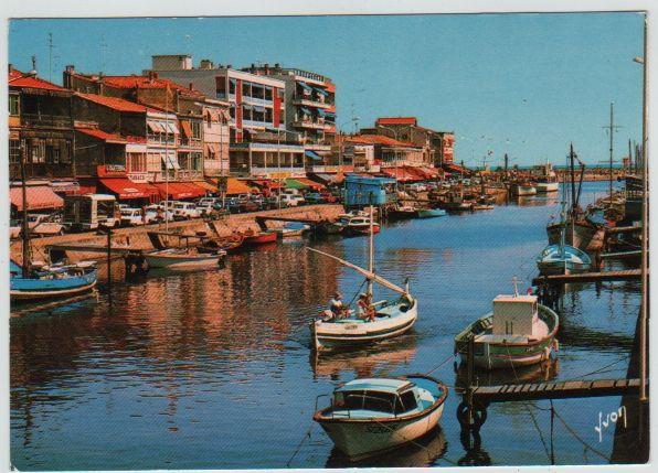 Carte Postale Ancienne Palavas-Les-Flots (Hérault) 2 Mèze (34)