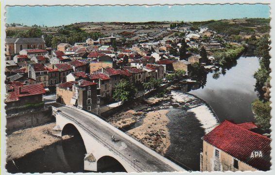 Carte Postale Ancienne Laguepie (Tarn et Gne) 2 Mèze (34)