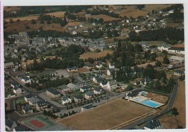 Carte Postale Ancienne Sainte-Geneviève (Aveyron) 2 Mèze (34)